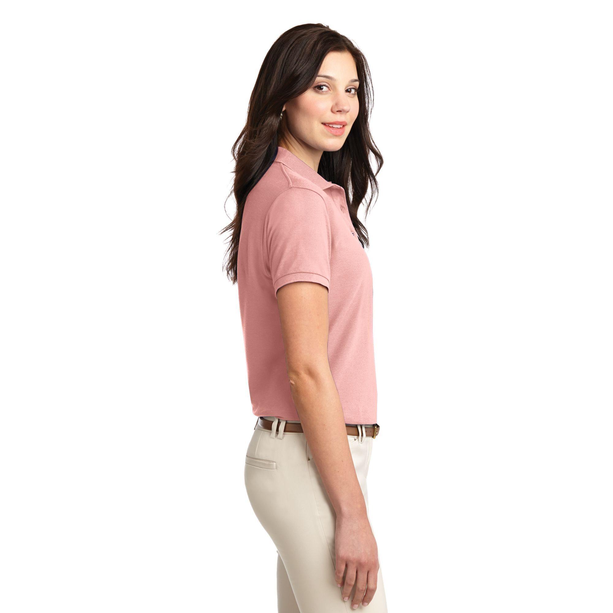 Port Authority® Silk Touch™ Pique Ladies' Polo