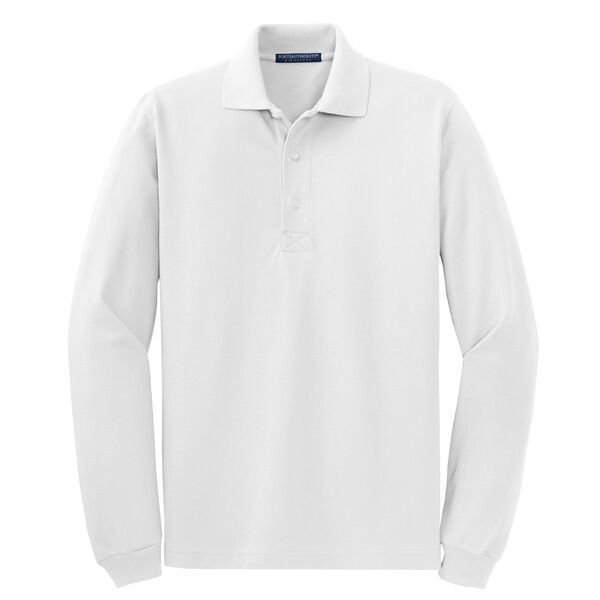Port Authority® Rapid Dry™ Men's Long Sleeve Polo