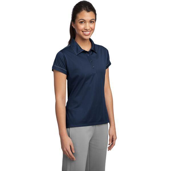 Sport-Tek® Contrast Stitch Micropique Sport-Wick® Ladies' Polo