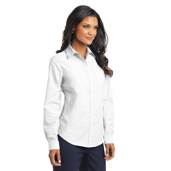 Port Authority® SuperPro™ Oxford Ladies' Shirt