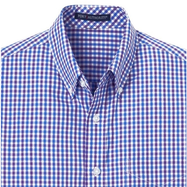 Port Authority® Gingham Easy Care Men's Shirt