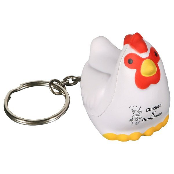 Chicken Stress Reliever Key Chain