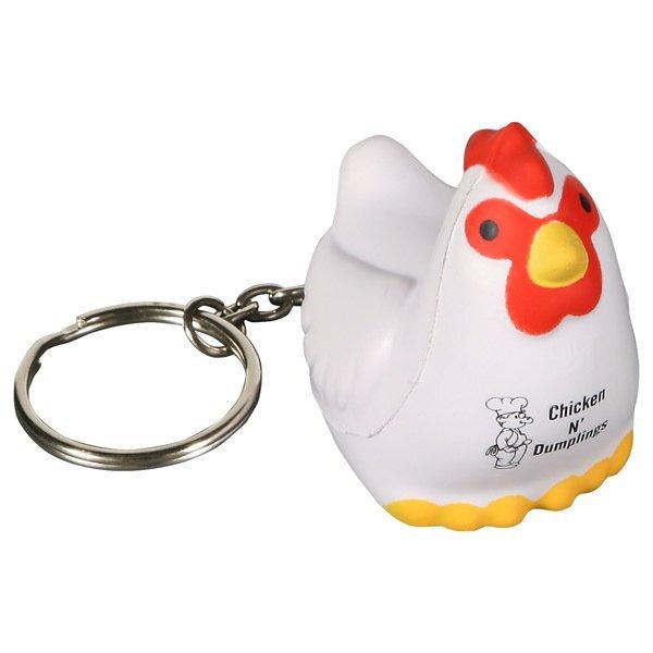 Chicken Stress Reliever Key Chain