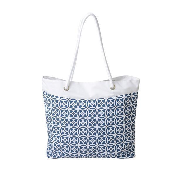 Maya 600D Pattern or Solid Rope Tote Bag