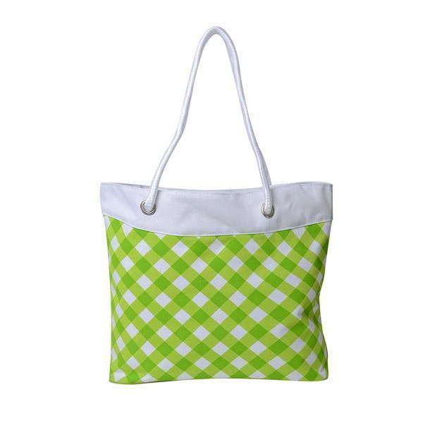 Maya 600D Pattern or Solid Rope Tote Bag