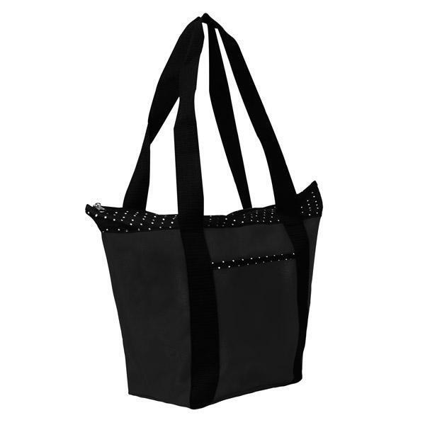 Anna Marie Polka Dot 600D Polyester Tote