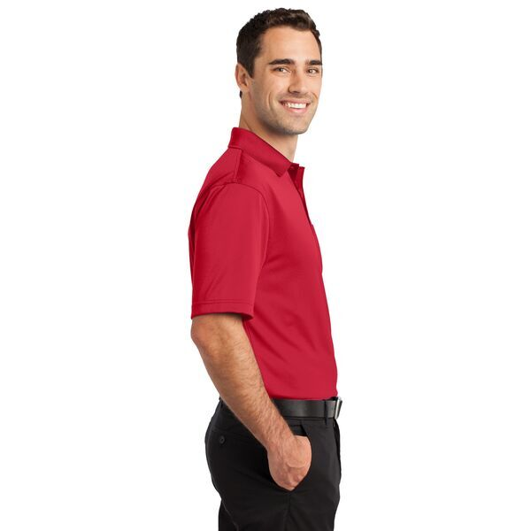 CornerStone® Select Snag-Proof Men's Performance Polo with Pocket