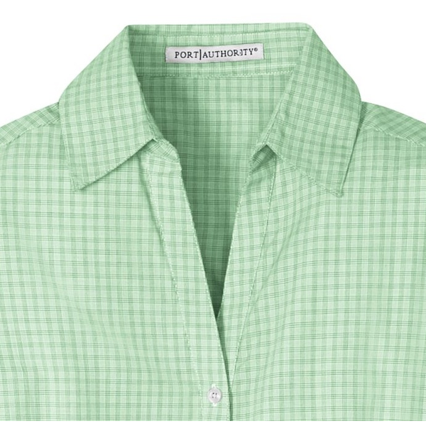 Port Authority® Plaid Pattern Easy Care Ladies' Shirt