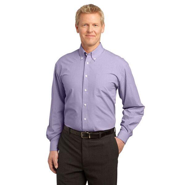 Port Authority® Plaid Pattern Easy Care Men's Shirt