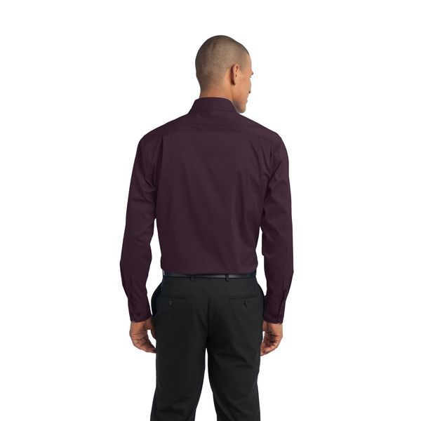 Port Authority® Stretch Poplin Men's Shirt