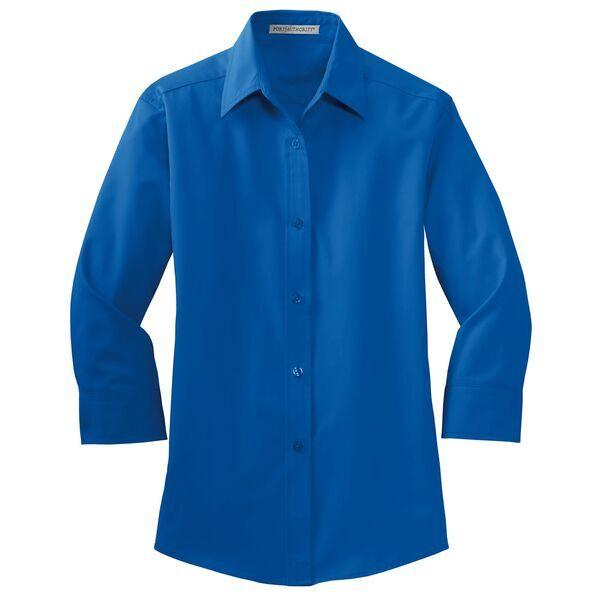 Port Authority® Easy Care Ladies' 3/4 Sleeve Shirt