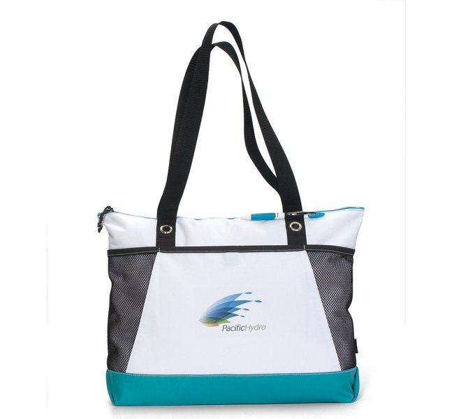 Bayview Color Accented Polycanvas Tote