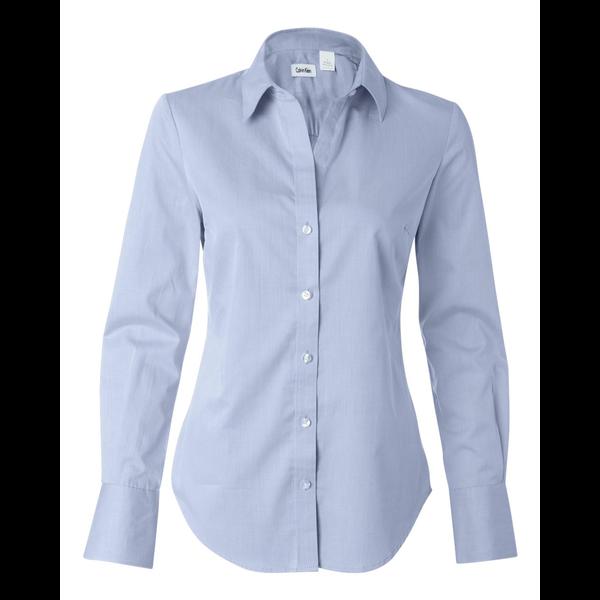 Calvin Klein® Pure Finish Cotton Ladies' Shirt