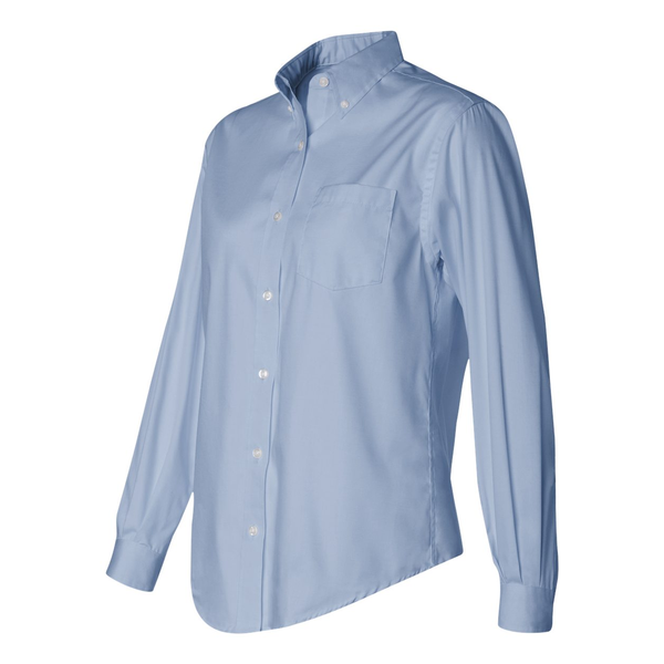 Van Heusen® Non-Iron Blend Pinpoint Oxford Ladies' Shirt