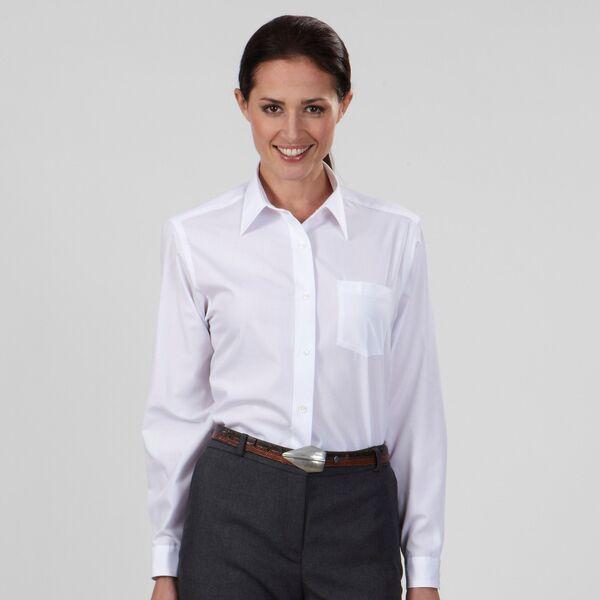 Van Heusen® Non-Iron Broadcloth Ladies' Shirt
