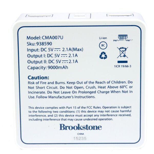 Brookstone Power Bank 9000mah Promotions Now