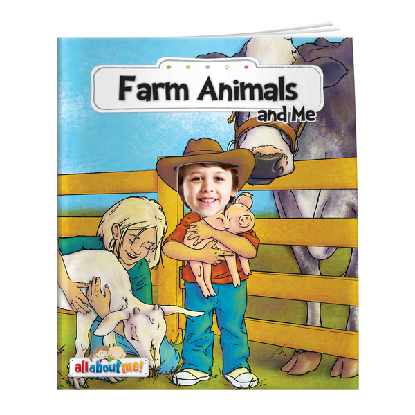 Farm Animals and Me All About Me Book