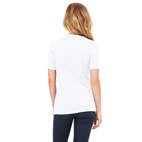 Bella + Canvas® Relaxed Cotton Jersey V-Neck Ladies' Tee