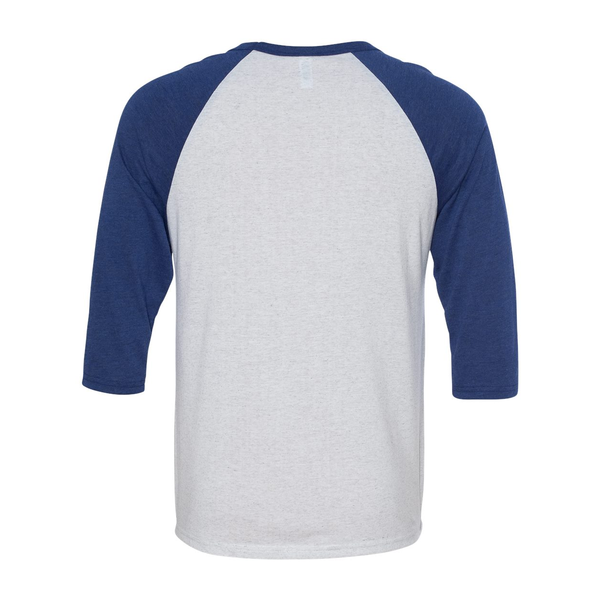 Bella + Canvas® Triblend Unisex Baseball 3/4-Sleeve Tee