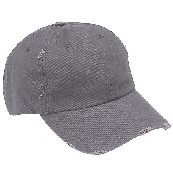 Distressed Chino Unconstructed Cap