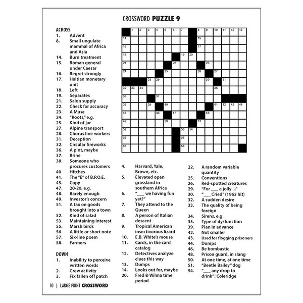 Large Print Crossword Puzzle Book With Pencil Vol 1 Promotions Now,Buckwheat Plant