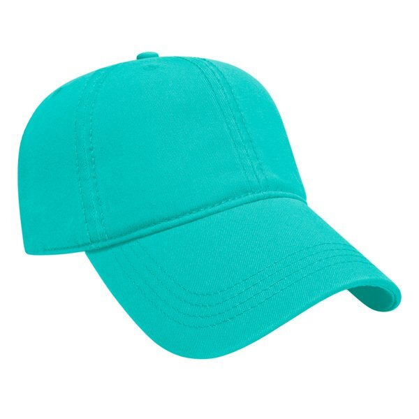 Classic Washed Chino Relaxed Golf Cap with Buckle Closure