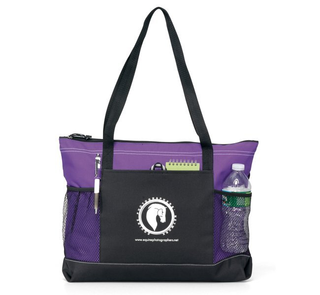 Windom Zippered Polycanvas Tote