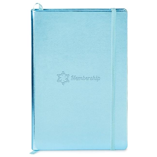 "Metallic Neoskin® Hard Cover Journal, 5-1/2"" x 8-1/4"""