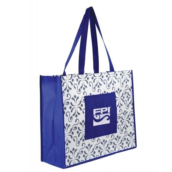 Chi Chi Patterned Laminate Tote