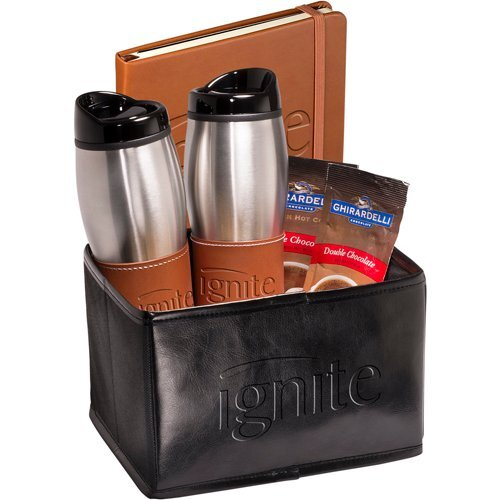 Abbott Tumblers, Journal, & Ghirardelli® Cocoa Set