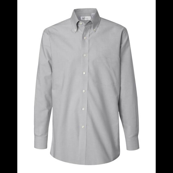 Van heusen non iron blend pinpoint oxford men 39 s shirt for Van heusen non iron shirts