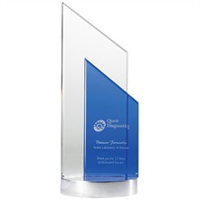 "Bergen Dual Crystal Award, 10"""