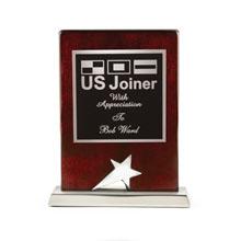 "Nashira Rosewood & Silver Star Award, 6"""