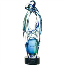 "Partnership Art Glass Award, 22-1/2"""