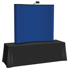 Arise™ Curve Pop-Up Tabletop Display Fabric Kit, 6'
