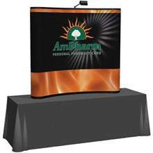 Arise™ Curve Pop-Up Tabletop Display Mural Kit, 6'