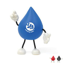 Droplet Figure Stress Reliever