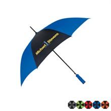 """Automatic Open Two-Tone Umbrella, 46"""" Arc"""