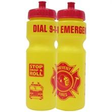 9-1-1 Emergency Bike Bottle 28oz., Stock