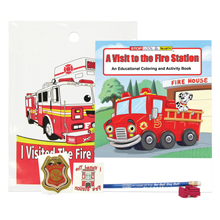 Fire Station Grab Bag Kit, Stock