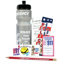 Safety 28oz. Sport Bottle Kit, Stock