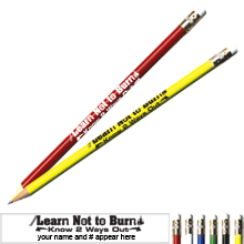 Learn Not to Burn Know 2 Ways Out Pricebuster Pencil