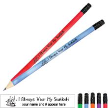 I Always Wear My Seatbelt Mood Pencil