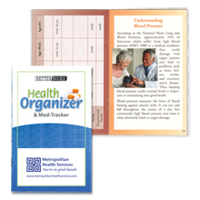Health Organizer and Med Tracker Better Book™