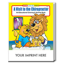 A Visit to the Chiropractor Coloring & Activity Book