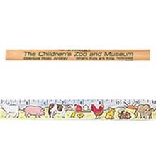 Color-Me Ruler - Farm Animals Theme
