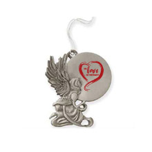 Angel Pewter Ornament