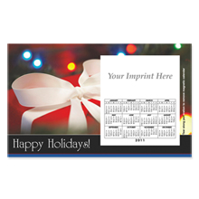 Perfed Postcard Magnet -  Holiday Gift Box