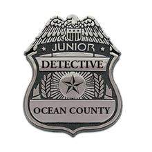Junior Detective Badge, Clip Backing, Custom