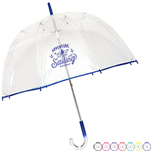 "Gum Drop Manual Open/Close Umbrella, 48"" Arc"